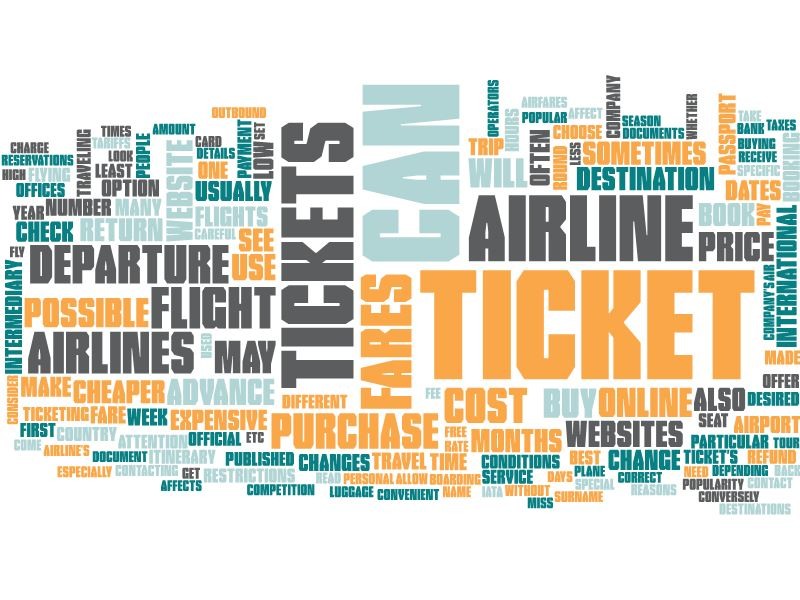 Flight ticket - Air ticket